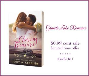 Chasing Treasure - Jody A Kessler - white - sale image